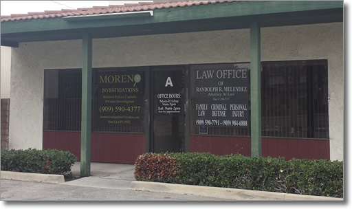 Family Law Attorney Randy Melendez in Chino, California